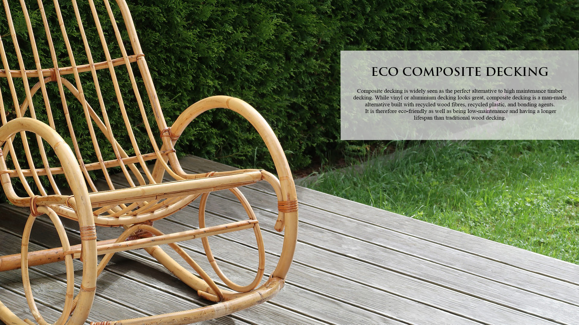 ECO COMPOSITE DECKING